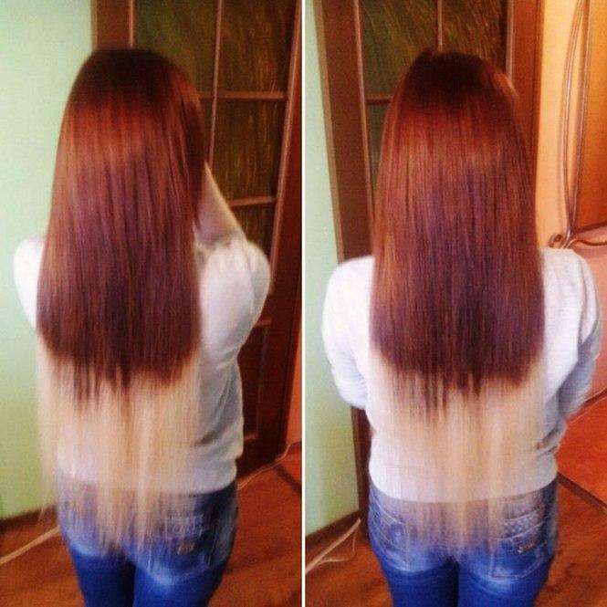 Стоимость капсульного наращивания волос
